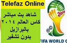 تقديم مشاهدة ماتشات كاس العالم 2014 بالبرازيل بث مباشر على النت
