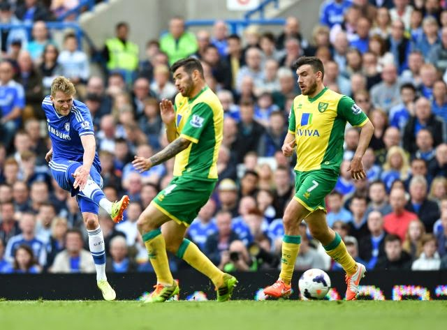 Chelsea 0-0 Norwich City.