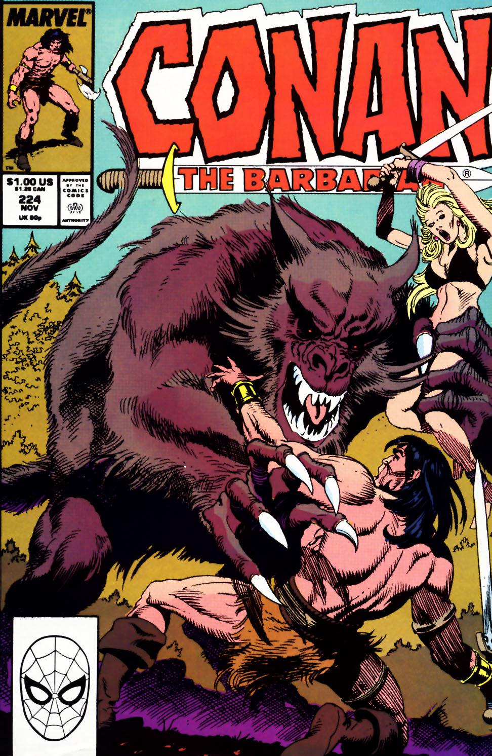 Conan the Barbarian (1970) Issue #224 #236 - English 1