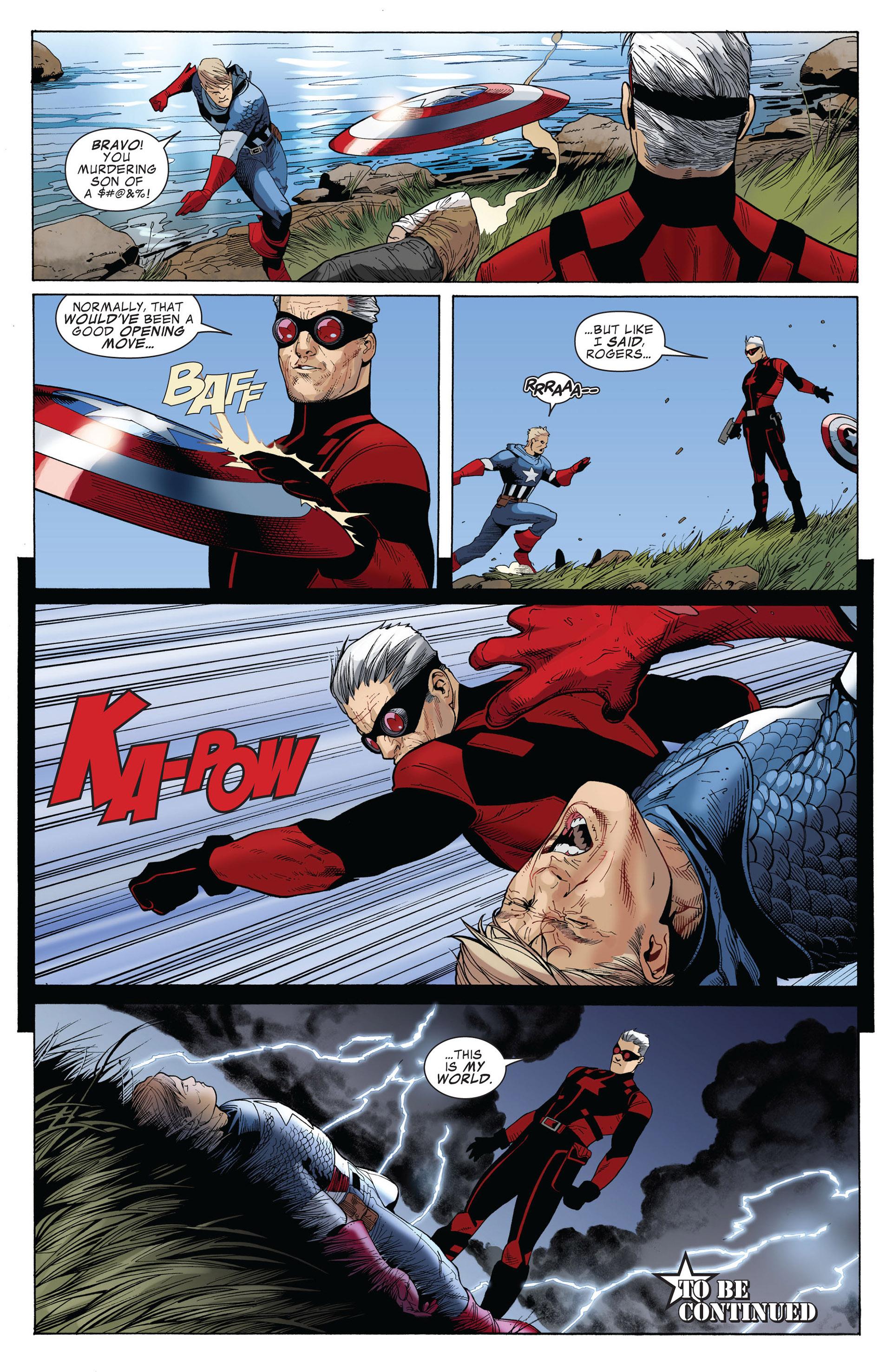 Captain America (2011) Issue #3 #3 - English 22