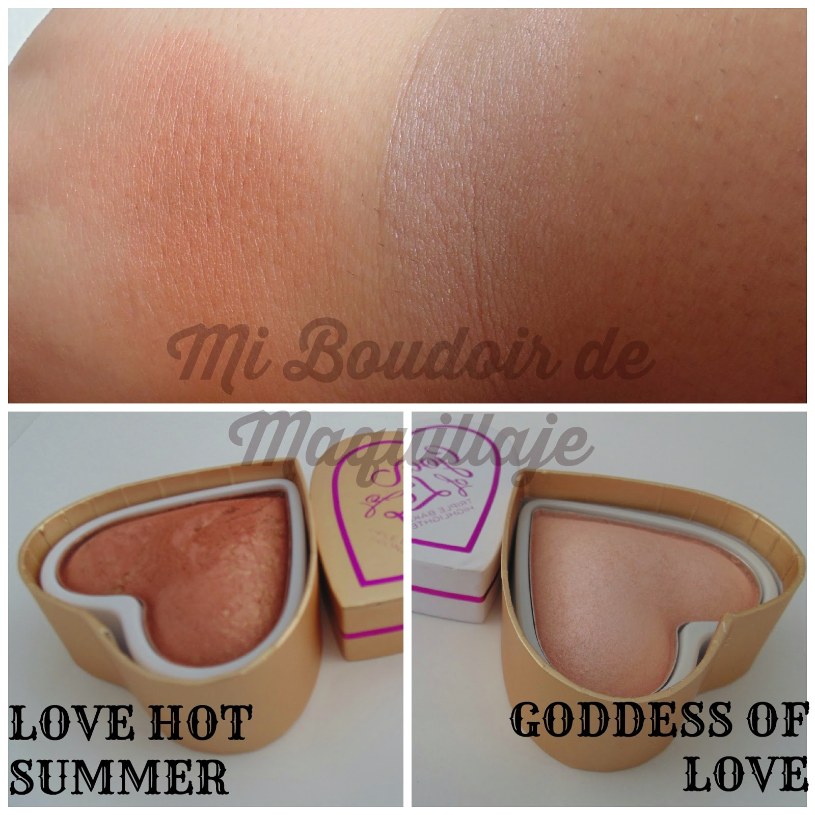 Love hot summer y Goddess Of love I heart Makeup