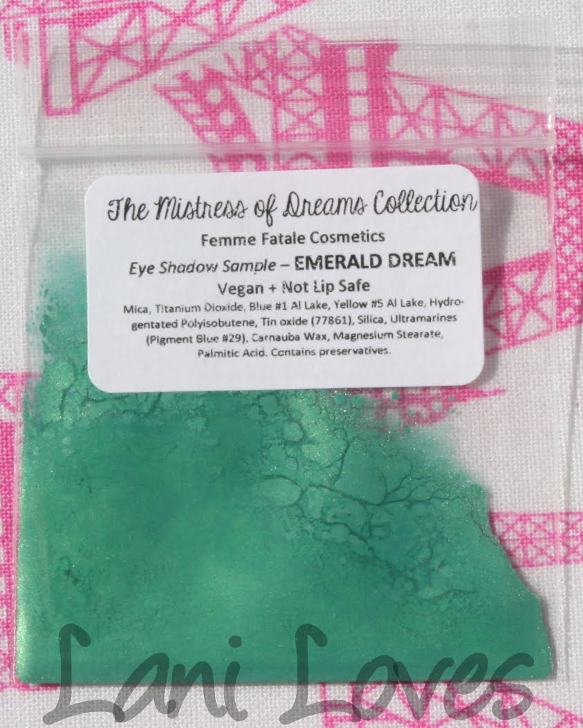 Femme Fatale Cosmetics Emerald Dream