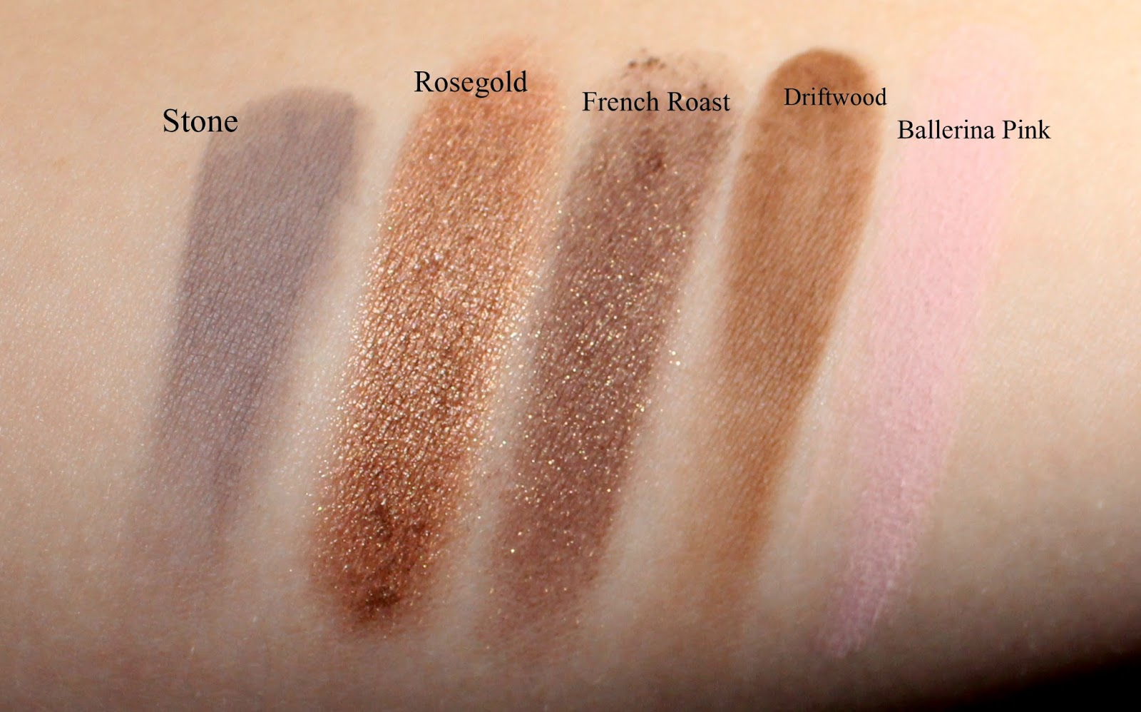 Mary Kay Mineral Eye Color swatches