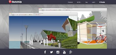 Aplikasi Software Desain Rumah Sketch Up 3D