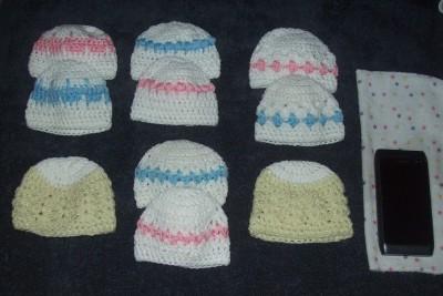 Free Crochet Pattern Preemie Hat : Free Crochet Patterns By Cats-Rockin-Crochet