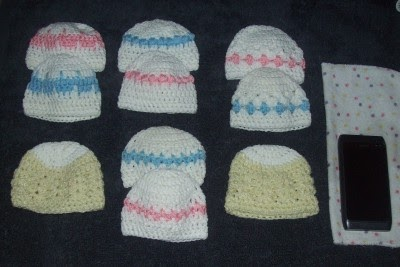 Free Crochet Pattern Preemie Cap : Free Crochet Patterns By Cats-Rockin-Crochet