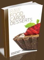 Raw Food Carob Desserts
