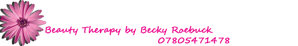Becky's Beauty Therapy Appointment Blog