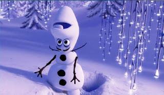 Gambar lucu Olaf Frozen