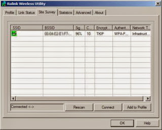 Download Ralink wireless utility