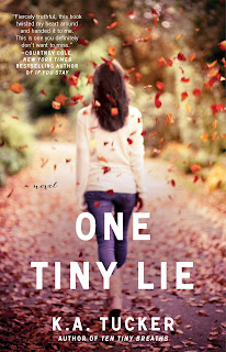 Cover Reveal: One Tiny Lie by K.A. Tucker