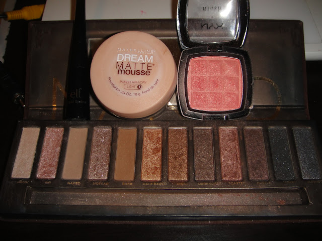 naked swatches, urban decay, naked UD makeup look, naked makeup look, naked date night look, date night makeup, simple date night look, easy date night look, date night look for beginners, makeup for beginners,
