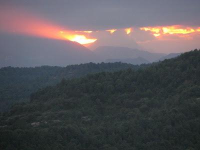 Sant Martí Xic posta de sol