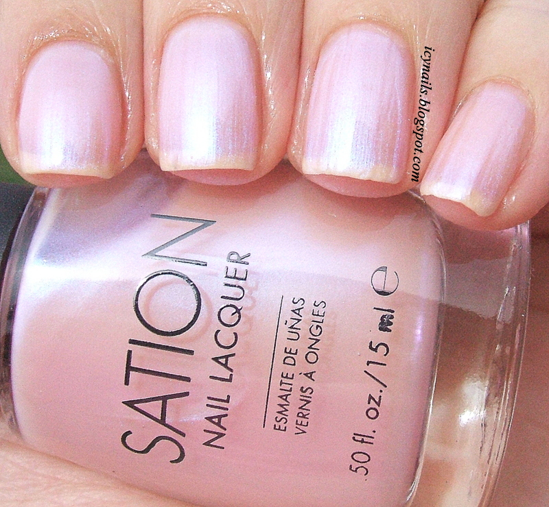 Cotton Candy Nail Color: Sation Polishes: Swatches And Review