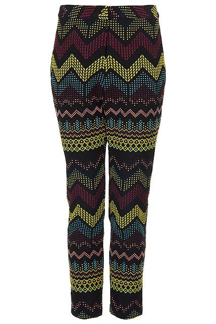 aztec trousers