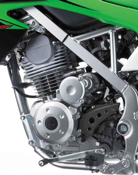 mesin Kawasaki KLX 150 2015