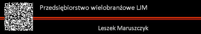 P.W. LJM Leszek Maruszczyk nieoficjalny serwis