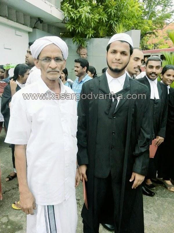 Kasaragod, Kerala, College, Winner, MIC, Student, Education, Haneef Hudavi Delampady, Law College, LLB.