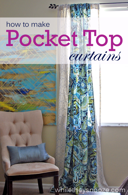 How To Make Rod Pocket Curtains Bear Curtain Rods