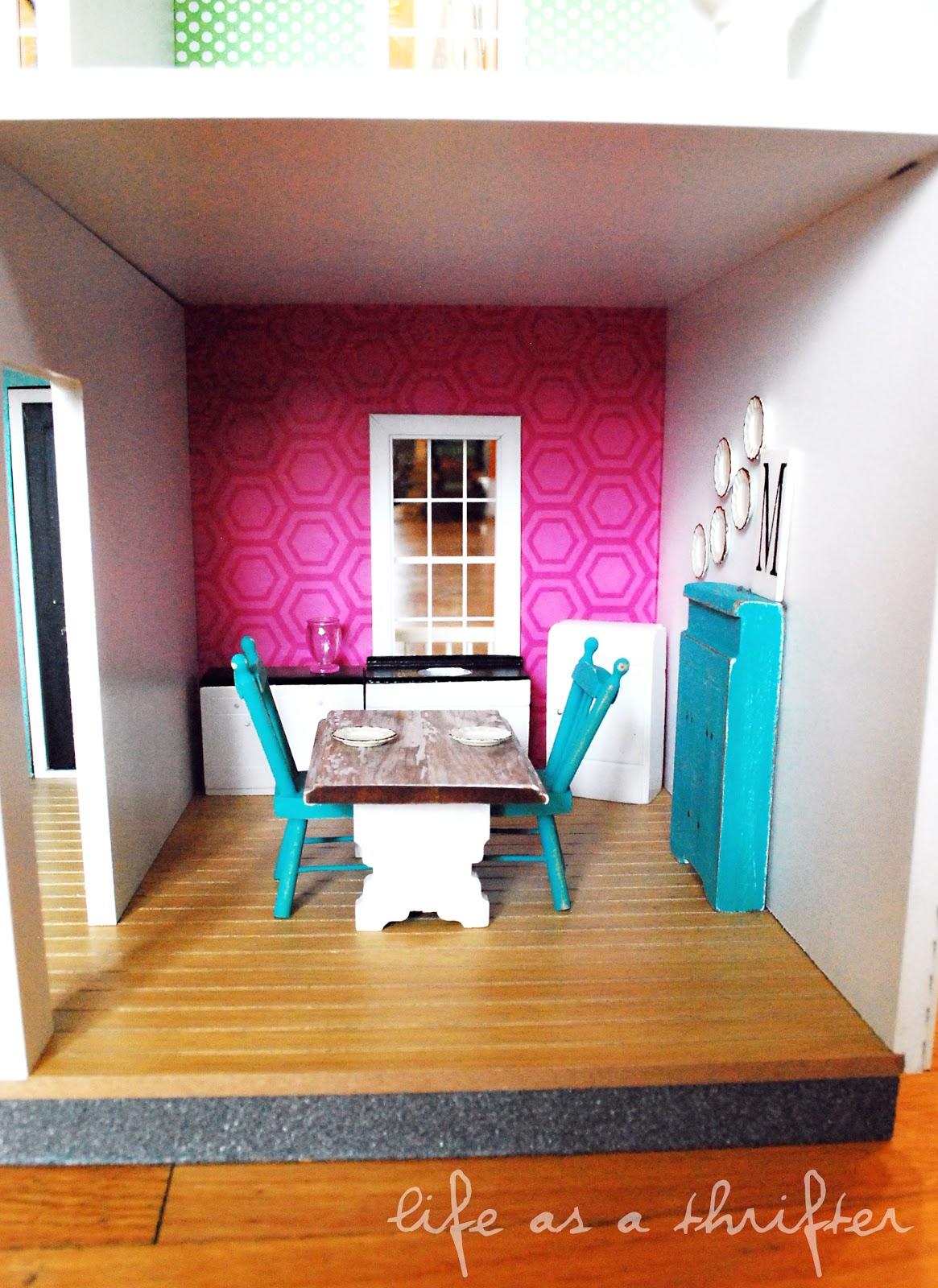 Hobby Lobby Dollhouse Kitchen