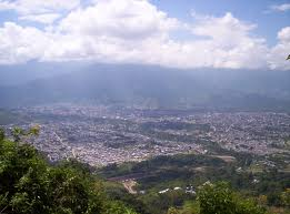panoramica de la capital del tolima
