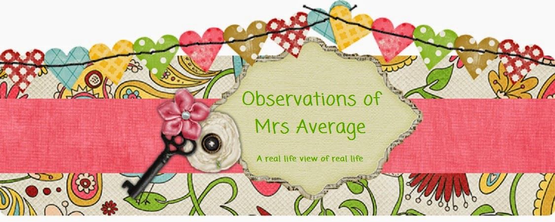 Observations of Mrs Average