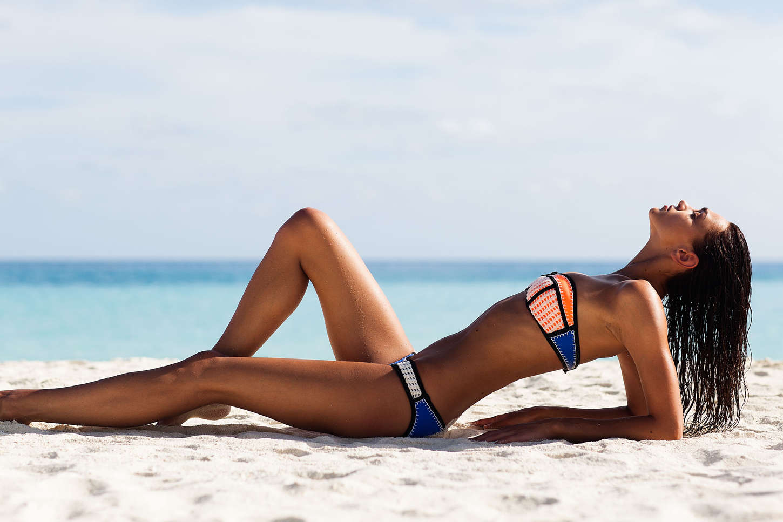 Zhenya Katava – Triangl Swimwear Photoshoot 2015