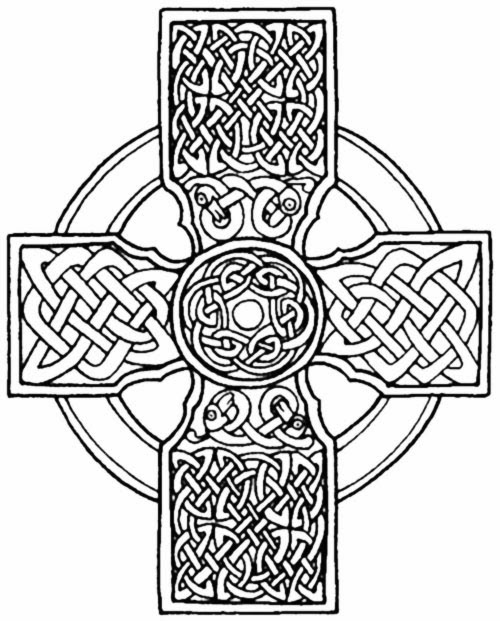Trust image in printable celtic stencils