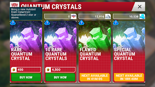 transformers earth wars rare quantum crystal