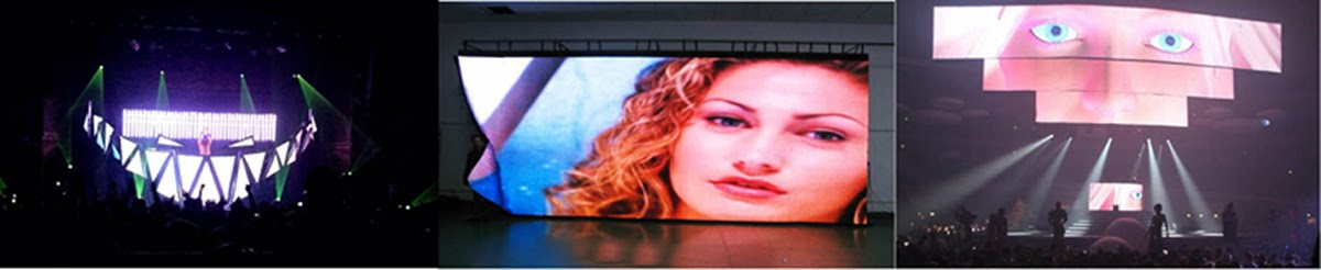 Flexible LED Video Curtain Display/Soft LED Cloth Screen/Folding LED Panel/Mobile LED Curtain