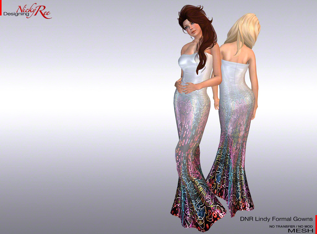 Designing Nicky Ree: New DNR Karin and Lindy MESH Gowns
