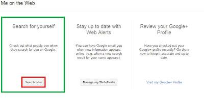 إعرف ماذا ينشر عنك في محرك البحث جوجل ببساطة شديدة