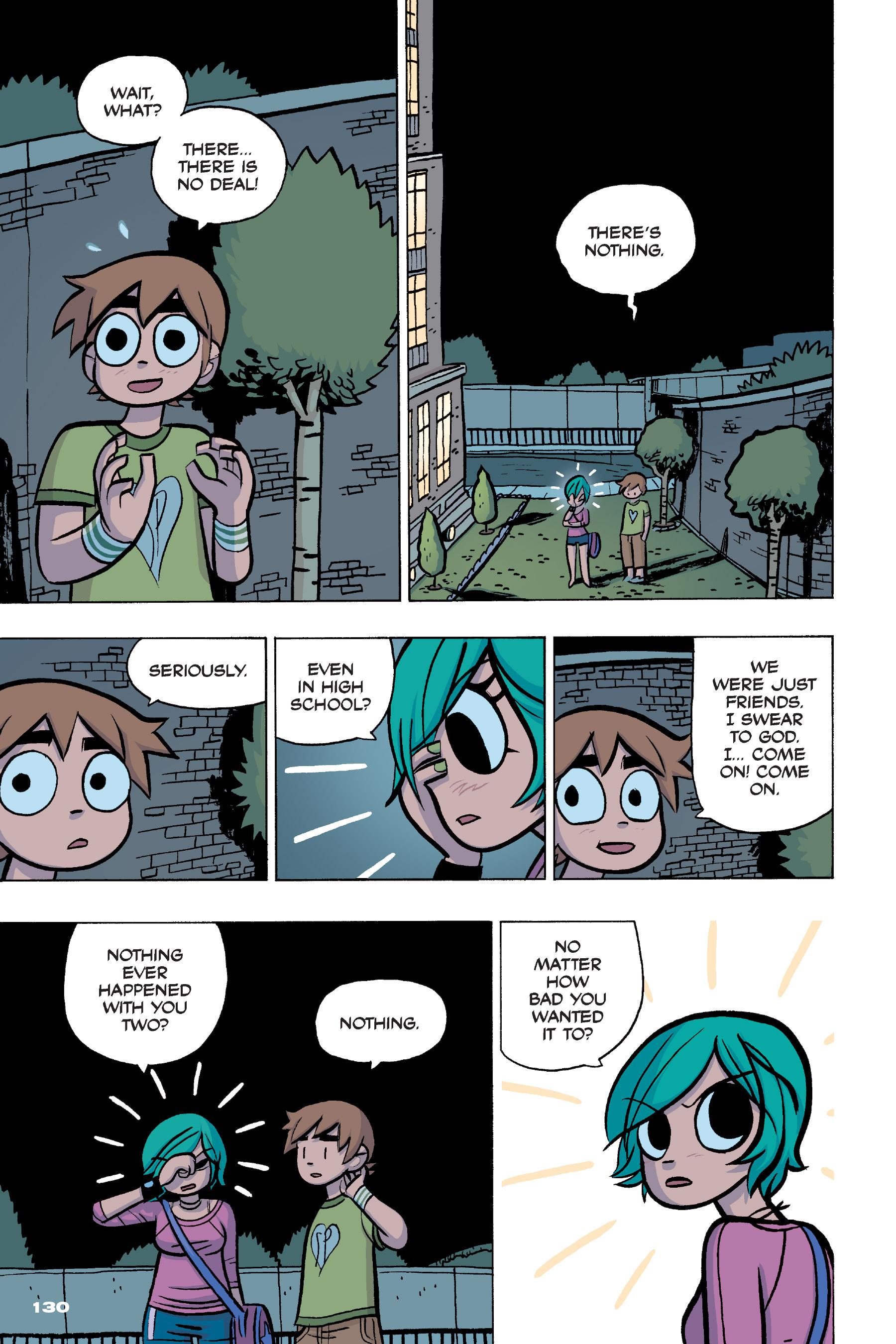 Read online Scott Pilgrim comic -  Issue #4 - 127