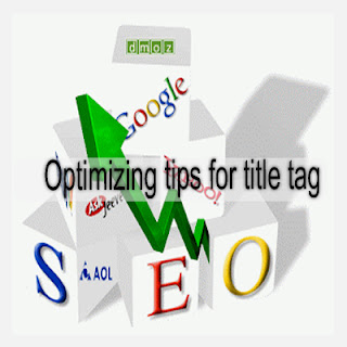 Optimizing tips for title tag