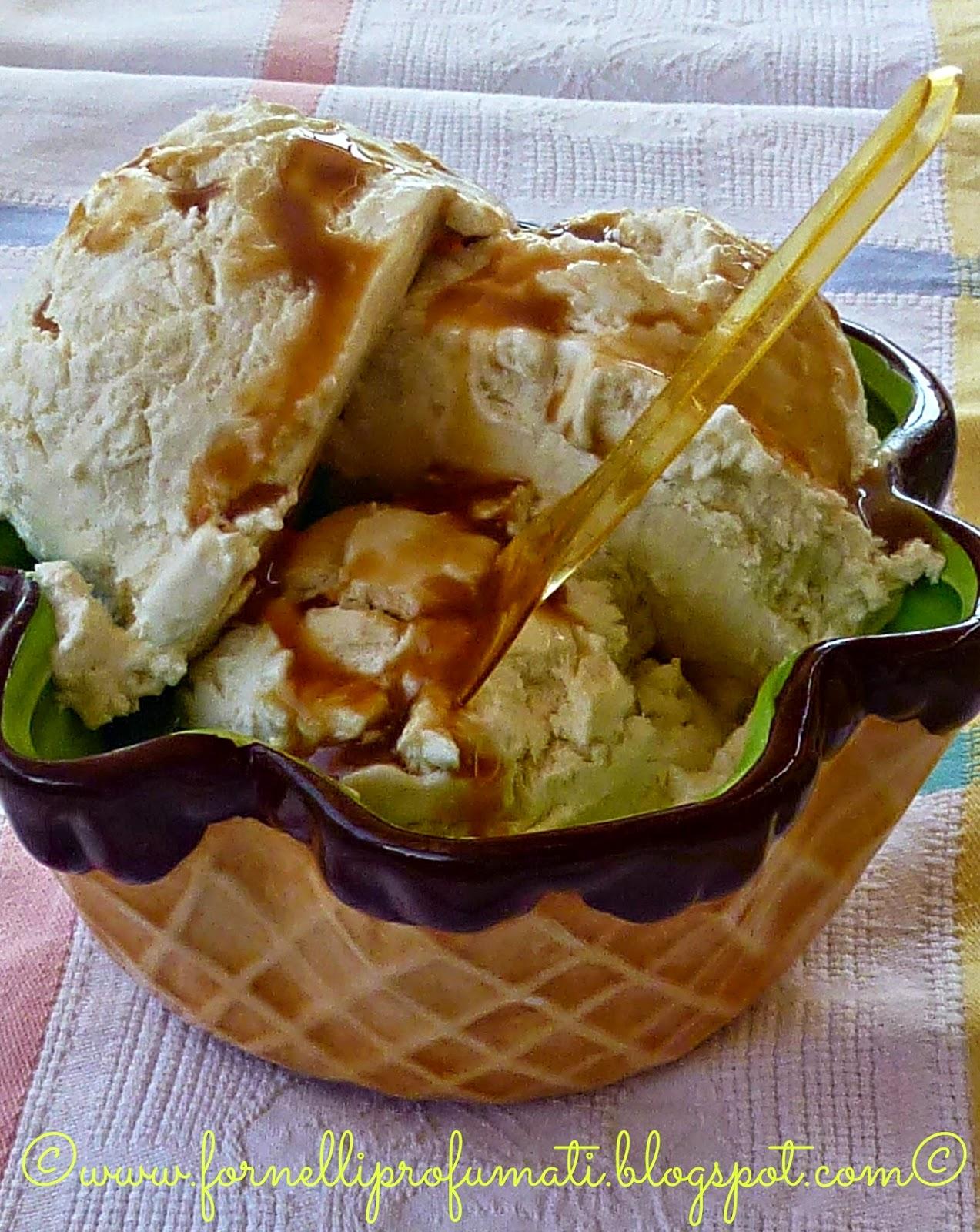 gelato al latte condensato.