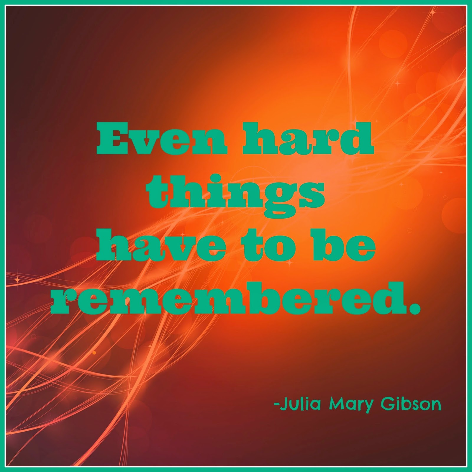 Hard things quote from Copper Magic