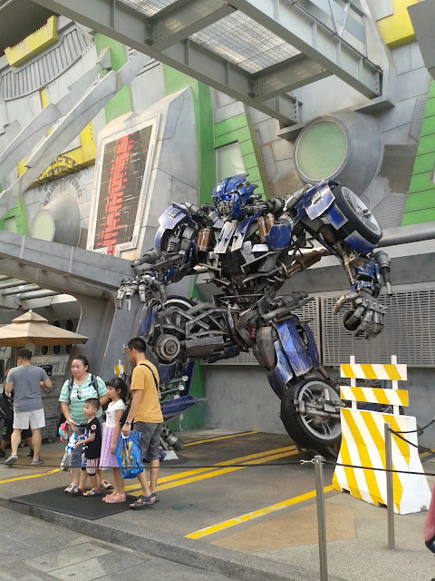 Transformers at USS Singapore