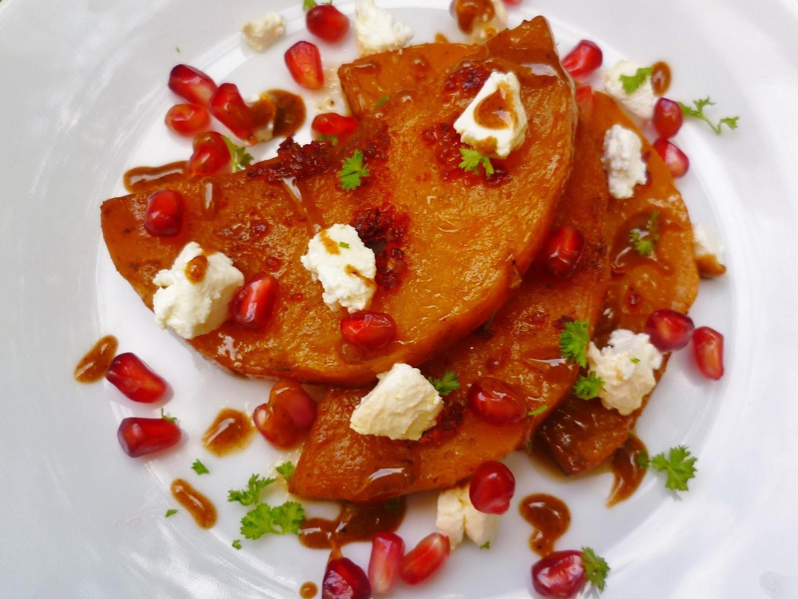 Marmaduke Scarlet: roast butternut squash salad with ...