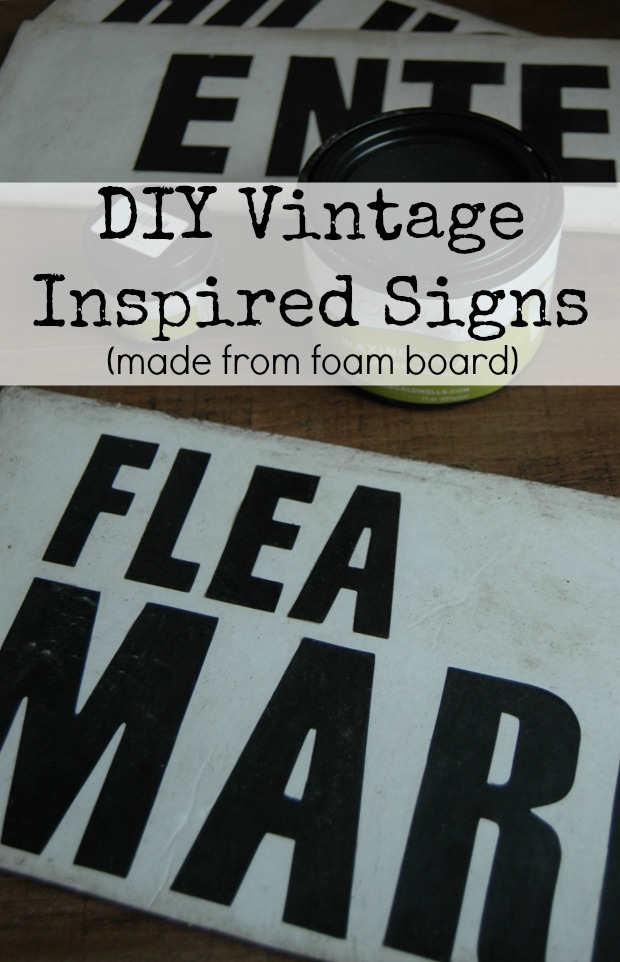Diy Vintage Signs Made From Foam Board  Little House Of. Persistent Signs. Laryngeal Cancer Signs. Original Signs Of Stroke. Bee Signs. Baby Recovery Signs. Bike Route Signs Of Stroke. Playdough Mat Signs. Escalator Signs