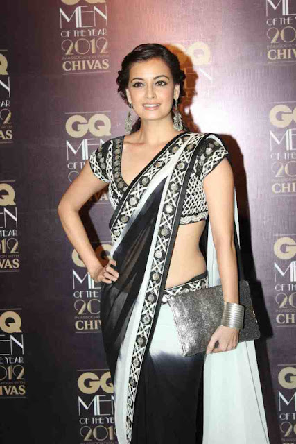 Dia Mirza at GQ Men Of The Year 2012 Awards
