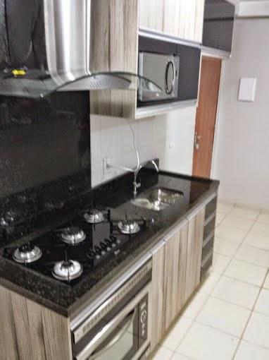 Cozinha planejada parque do riacho apartamento 03 quartos