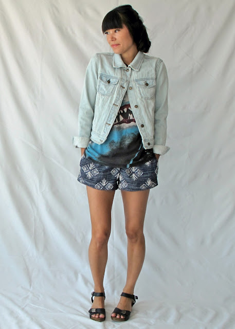 shorts with free pattern