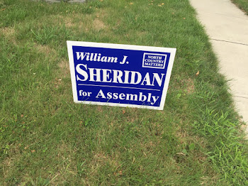 Sheridan Sign in GOP Establishment. Yard