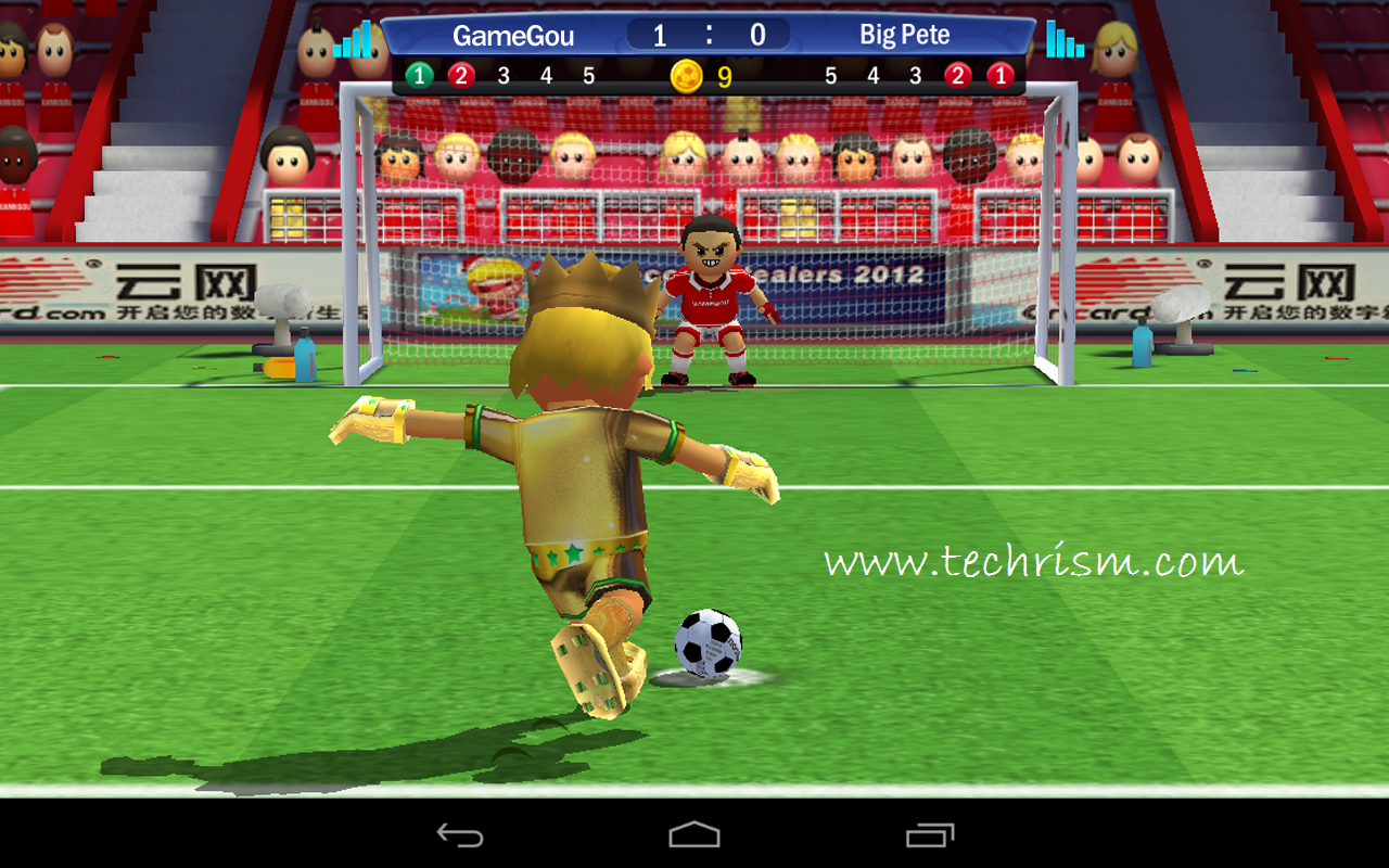 Download best football or soccer games for android in 2014 - It Is The Perfect Multiplayer Penalty Game Which You Can Enjoy With Friends And With Live Gamers Around The World Download It From Here