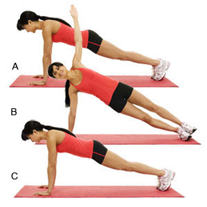 Celebrity Fitness Tips Real Push-ups