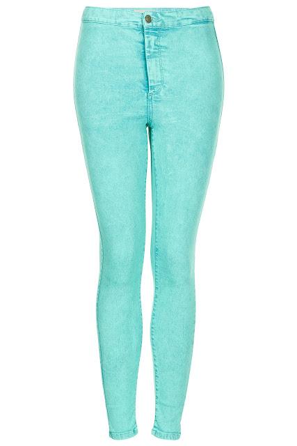 turquoise acid jeans