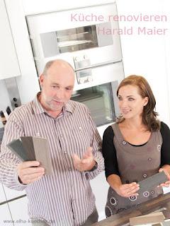 Küche renovieren, Küche gestalten oder Küchenumbau - Harald Maier KM - Küchenmodernisierung München GmbH - ehemals Mit-Geschäftsführer von elha service Küchenmontagen München