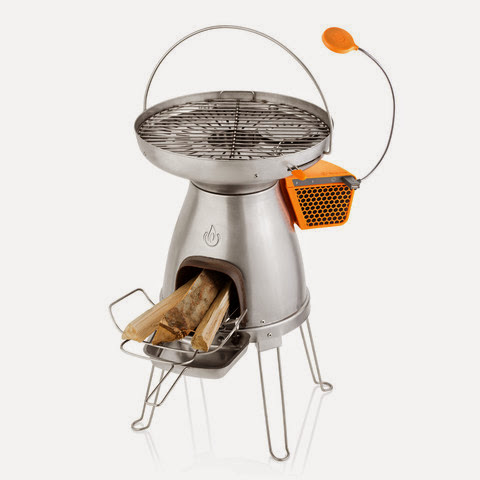 Best Off Grid Power Gadgets - BioLite BaseCamp Stove