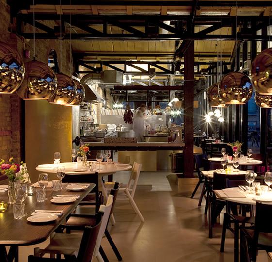 Restaurant With Open Kitchen: Kaper Design; Restaurant & Hospitality Design Inspiration