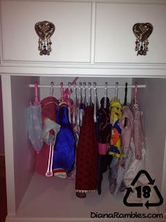 "Nightstand 18"" American Girl Doll Closet"